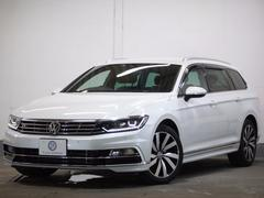 VW パサートヴァリアントTSI Rライン新車保証 革LEDヘッド追従ACC専用エアロ