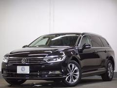 VW パサートヴァリアントTSIハイライン新車保証LEDヘッド ナビTV 黒革 ACC