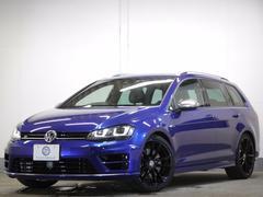 VW ゴルフRヴァリアントローンチED 限定車 新車保証 コンビ革 専用19AW ナビ