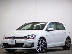 VW ゴルフGTIパフォーマンス 限定車 新車保証 1オナ 高出力EG DCC