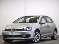 VW ゴルフTSIハイライン 新車保証 スマートキーACCディスカバナビ