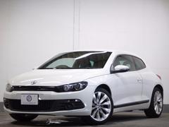 VW シロッコ2.0TSI後期 DCC可変サス 黒革 地デジナビ2年保証