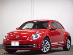 VW ザ・ビートルデザインレザーP 黒革 8型ナビ LEDポジション 2年保証