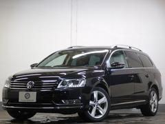 VW パサートヴァリアントTSIハイライン 黒革 TVナビBカメラ キセノン 2年保証