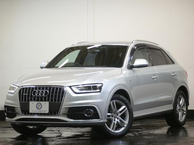 audi q3 2.0tfsi quattro 211ps s line package | 2013 | silver m