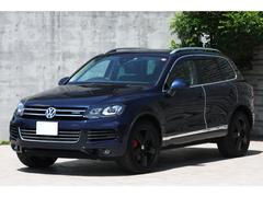 VW トゥアレグハイブリッド ルーフレールPKG 黒革 アラウンドビュー