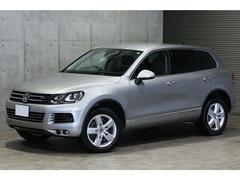 VW トゥアレグハイブリッド 黒革 フロントアシスト 360度カメラ 地デジ