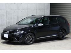 VW ゴルフRヴァリアントACC パノラマSR RAYS18AW 黒革 ワンオーナー