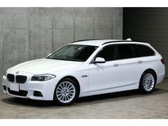 BMW535iツーリング オプション18AW トップビュー 黒革