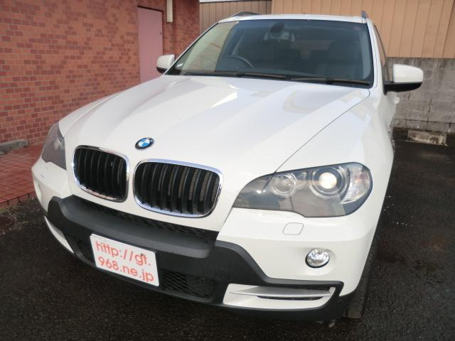 BMW X5 3.0si 4WD ナビBカメラ 電動皮シート サン...