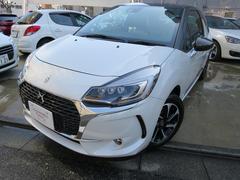 シトロエン DS3ソー・パリジェンヌ新車保証継承CMPライト純正ナビ