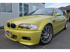 BMWM3クーペ 6速MT左ハンドルローダウン18AW取説記録簿
