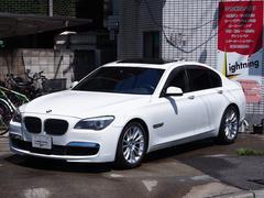 BMW750iMスポーツ 左ハンドル サンルーフ ブラックレザー