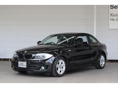 BMW120i  認定中古車 ブラックサファイアメタリック