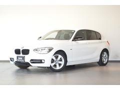 BMW116i スポーツ 認定中古車 アルピンホワイト