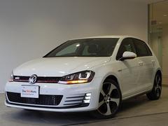 VW ゴルフGTIマニュアル試乗車 DCC 純正ナビ ETC 障害物センサー