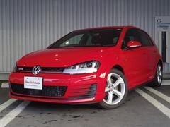 VW ゴルフGTIベースグレード 認定中古車 純ナビ パドルシフト 追従機能