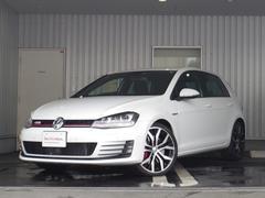 VW ゴルフGTIパフォーマンス 限定車 純ナビ 追従機能 DCC 認定中古車