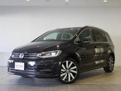VW ゴルフトゥーランTSIRライン 純正ナビ 追従機能 LED 認定中古車