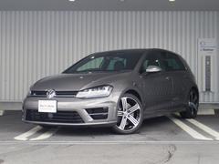 VW ゴルフR純正SDナビ 黒レザー パワーシート Bカメラ  認定中古車