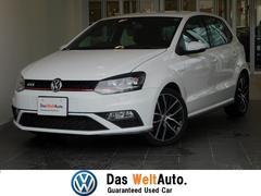 VW ポロGTIベースグレード 新車保証付 純ナビ  パドルシフト 認定中古