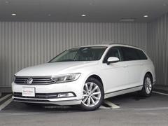VW パサートヴァリアントTSIエレガンスライン 新車保証付  純ナビ Car−Net