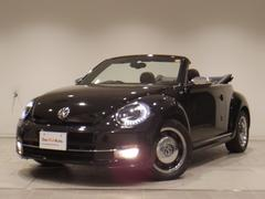 VW ザ・ビートル・カブリオレ50's 黒・赤レザー シートヒーター クルコン 認定中古車