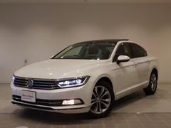 VW パサートTSIハイライン サンルーフ 黒レザー パール色 認定中古車