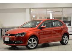 VW ポロTSIハイライン 純正SDナビ ETC 登録済未使用車