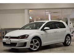 VW ゴルフGTIベースグレード 純正SDナビ ETC 登録済未使用車