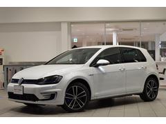 VW ゴルフGTE登録済未使用車 純正SDナビ ETC 1年延長保証付き