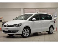 VW シャランTSI ハイライン純正ナビ ETC Rカメラ 登録済未使用車