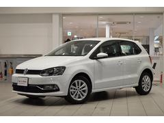 VW ポロTSIコンフォートライン 純正ナビ ETC 登録済未使用車