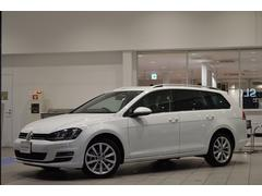 VW ゴルフヴァリアントTSIハイラインBMT 純正ナビ 認定中古車