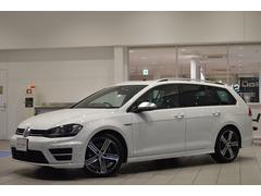 VW ゴルフRヴァリアントベースグレード 純正SDナビ ETC リアカメラ 認定中古車