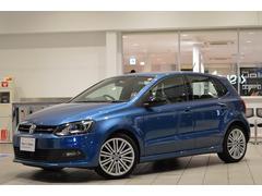 VW ポロブルーGT 純正ナビ ETC リアカメラ 認定中古車