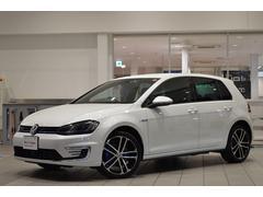 VW ゴルフGTEベースグレード 純正ナビ ETC 18インチアルミ 認定中古
