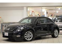 VW ザ・ビートルデザインレザーパッケージ 社外ナビ ETC 認定中古車