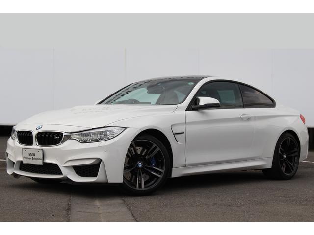 BMW M4 M4クーペ ワンオーナー 黒革 LED 19AW 右...