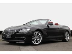BMW650iカブリオレ コンフォートPレッドレザー純正19AW
