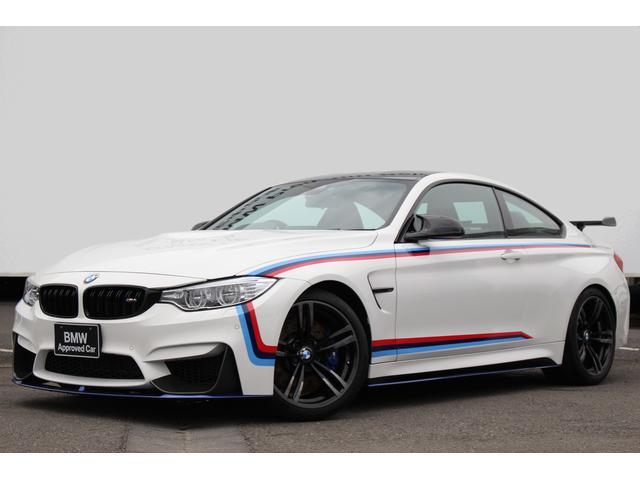 BMW M4クーペ 黒革 Mサス M Performanceパーツ