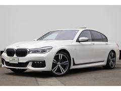 BMW740i Mスポーツ ワンオーナー 黒革 純正20AW SR