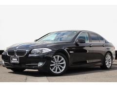 BMW528i ワンオーナー 黒革 ナビ フルセグ 18AW