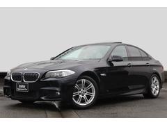 BMW528i Mスポーツパッケージ 黒革ガラスSR 純正18AW