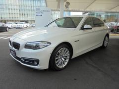 BMW523d ラグジュアリー 自動駐車 ACC 黒レザー