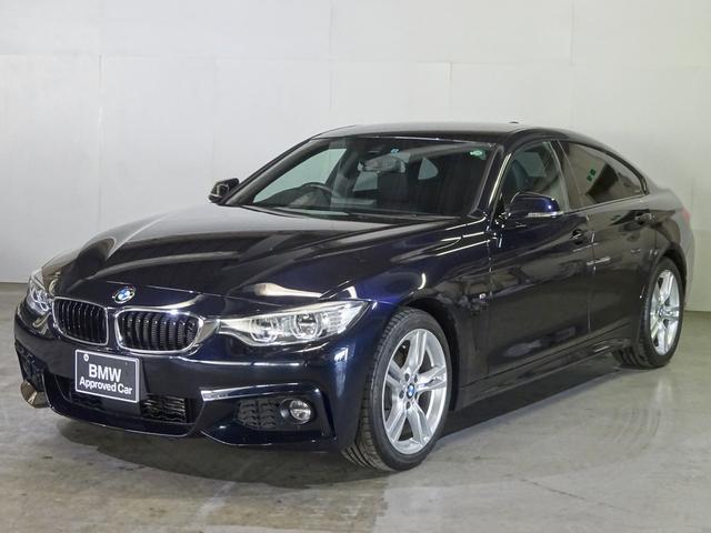 BMW 420iグランクーペ MスポーツLEDライト 黒レザーACC