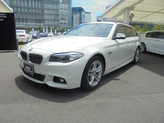 BMW 5シリーズ 523iツーリング Mスポーツ (車検整備付)