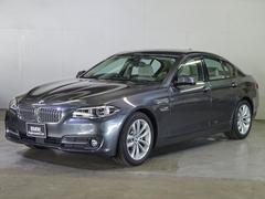 BMW523dグレースライン オイスターレザー LEDヘッドライト