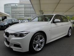 BMW320d Mスポーツ ACC茶レザーサンルーフ ウッドトリム