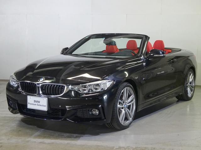 BMW 440iカブリオレ Mスポーツ 左H レッドレザー